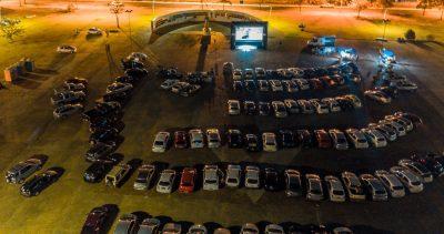 Cine autorama exibe quatro sessões gratuitas de cinema drive-in em Itapeva