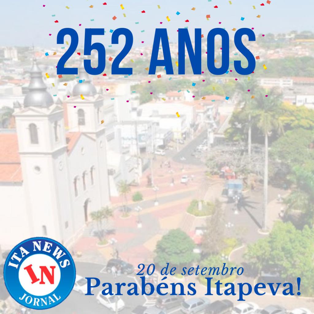 Parabéns Itapeva pelos 252 anos!