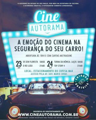 Itapeva receberá o Cine Autorama