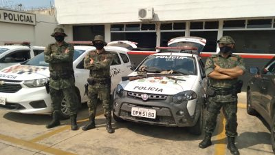 Polícia Ambiental prende três indivíduos em Nova Campina